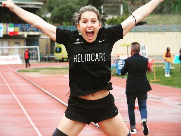 Rècord mundial de l'atletisme adaptat a l'Hospitalet de Llobregat