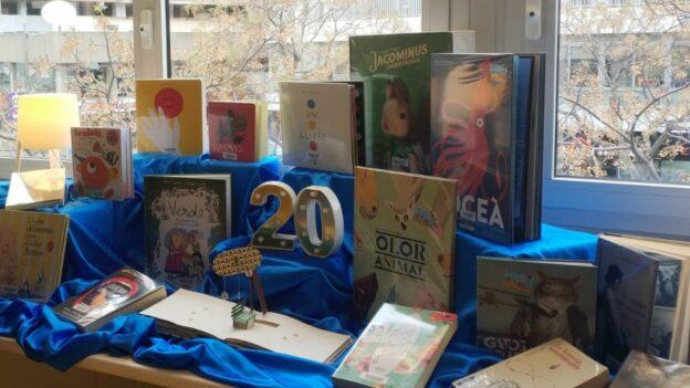 20 anys de biblioteca a La Florida: molt més que un préstec de llibres