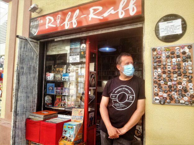 Riff-Raff s'ha convertit en la resistència, l'única botiga de discos de l'Hospitalet