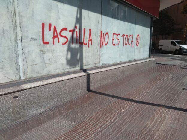 Cercavila solidària contra el desallotjament del CSO l'Astilla