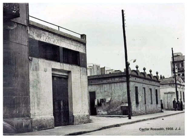 Denuncien l'abandonament i el desús de les casetes de passadissos municipals a Torrassa