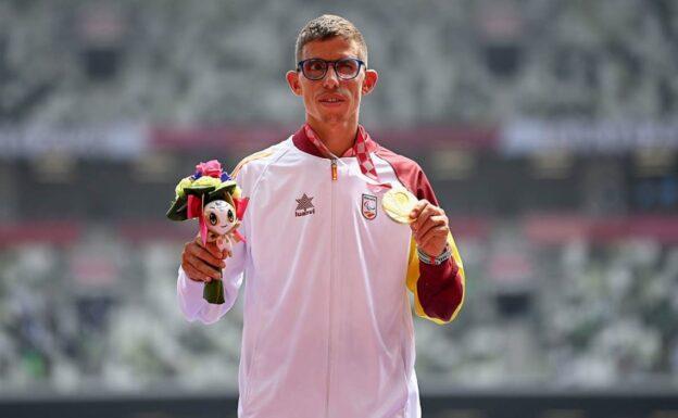 Yassine Ouhdadi, una medalla de oro cerca de l'Hospitalet
